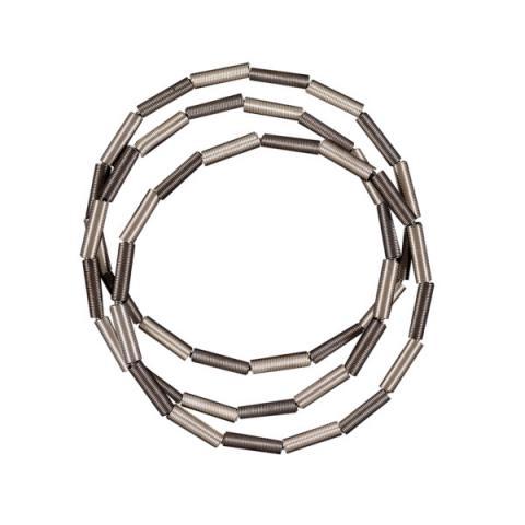 Etnika Zebra Silver Grey Bracelet