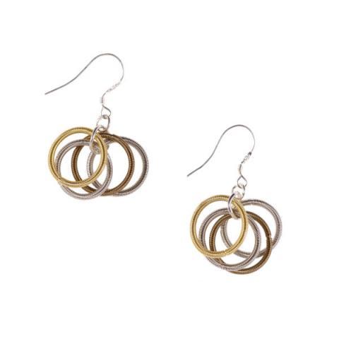 Etnika Odessa Mix Rings Earrings