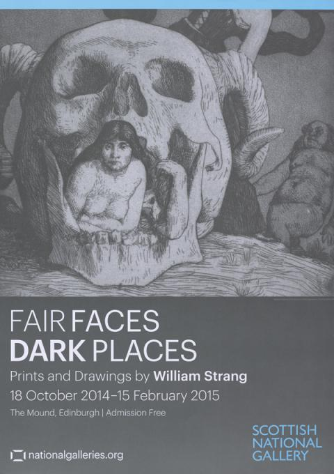 Fair Faces Dark Places Exhibition Poster