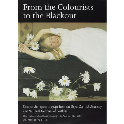 From the Colourists to the Blackout Exhibition Poster