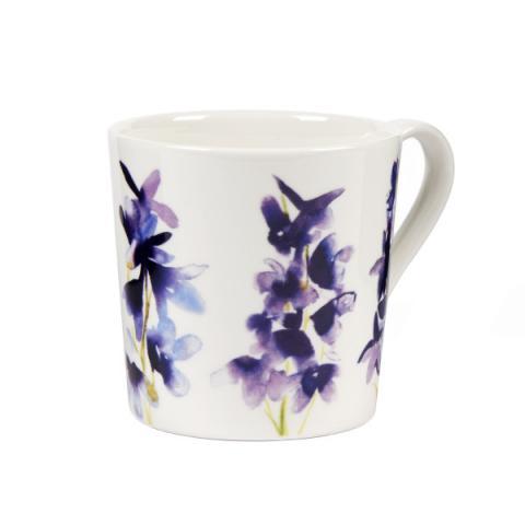 Bluebellgray Delphinium Mug
