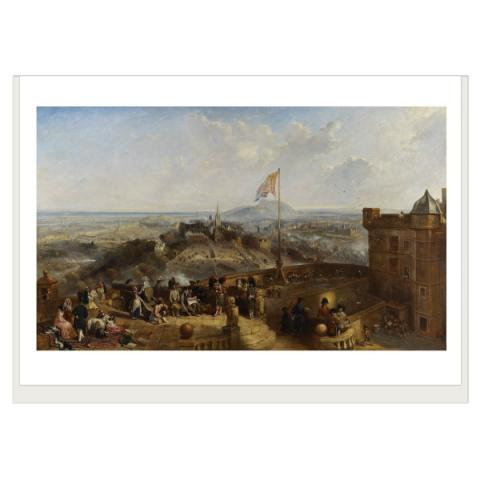 Edinburgh Old and New David Octavius Hill Greeting Card