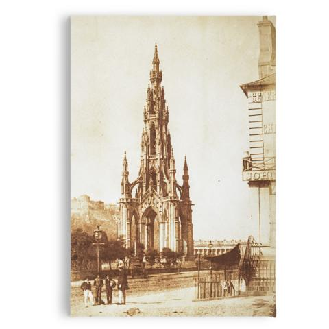 The Scott Monument by Hill & Adamson magnet