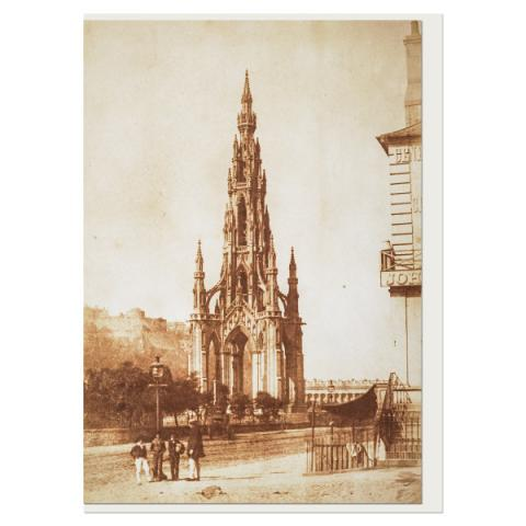 The Scott Monument Hill & Adamson Greeting Card
