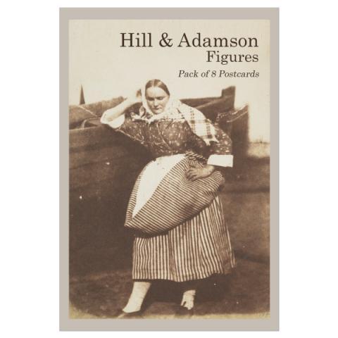 Figures Hill & Adamson Postcard Pack (8 Postcards)