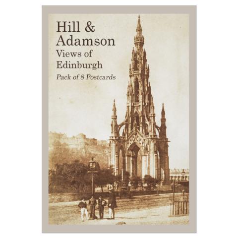 Views of Edinburgh Hill & Adamson Postcard Pack (8 Postcards)