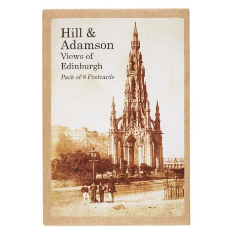 Views of Edinburgh Hill & Adamson Postcard Pack (8 Postcards)