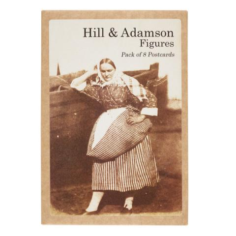 Figures Hill & Adamson Postcard Pack (8 Postcards)