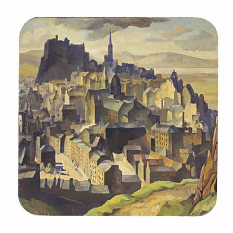 Edinburgh (from Salisbury Crags) William Crozier Coaster