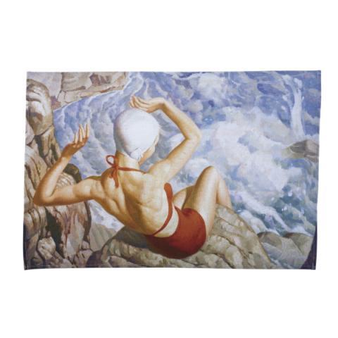 Spray Harold Williamson Tea Towel