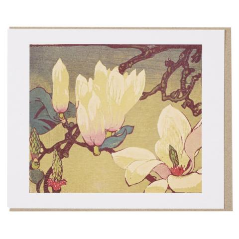 Magnolia Mabel Royds Greeting Card