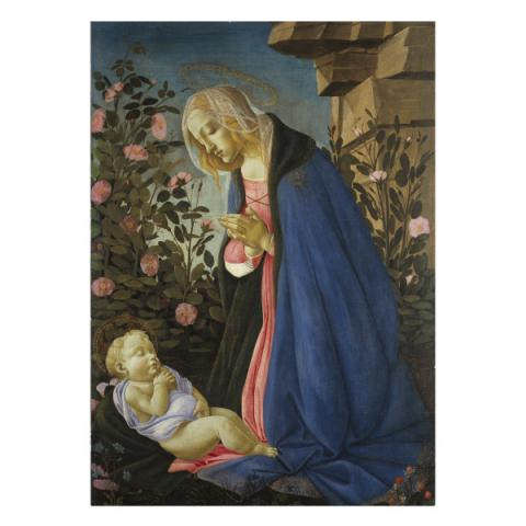 The Virgin Adoring Sandro Botticelli Christmas Card Pack (10 cards)