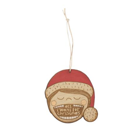 Small Stories All I Want Christmas Decoration