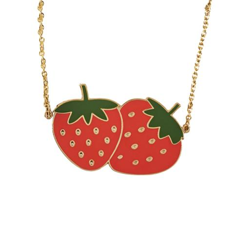 Acorn & Will Strawberry Necklace