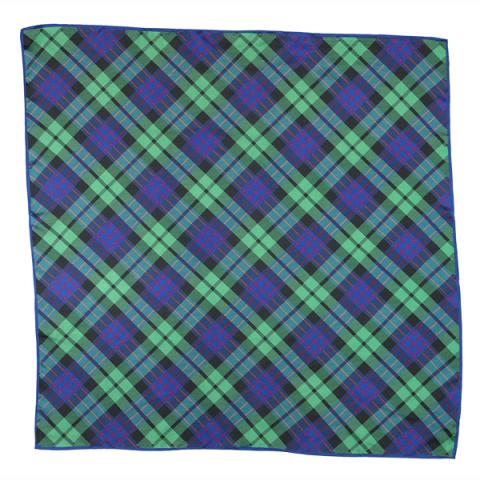 National Galleries of Scotland exclusive tartan silk square