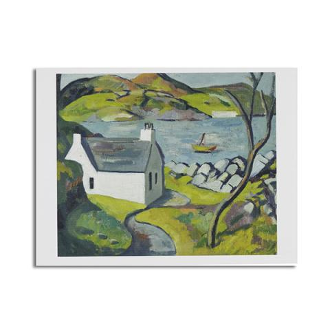 White Cottage, Carbeth by Wilhelmina Barns-Graham greeting card