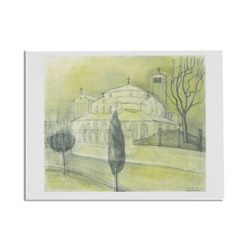Torcello by Wilhelmina Barns-Graham greeting card