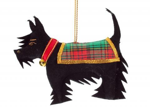 Scottie Dog Decoration