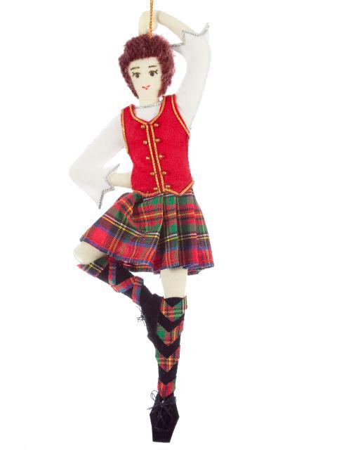 Highland Dancer Decoration