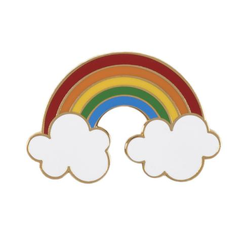 Acorn & Will Rainbow Enamel Pin