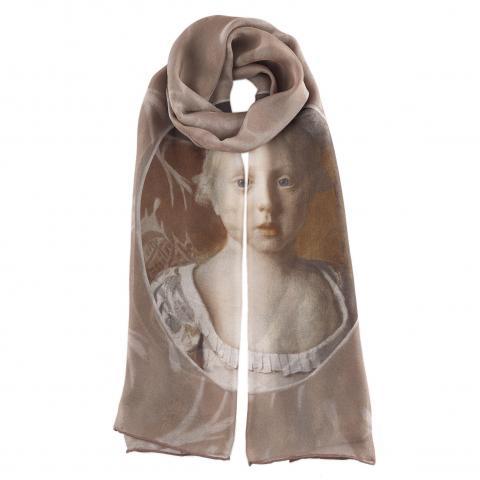 Princess Louisa Anne Jean-Etienne Liotard Silk Scarf