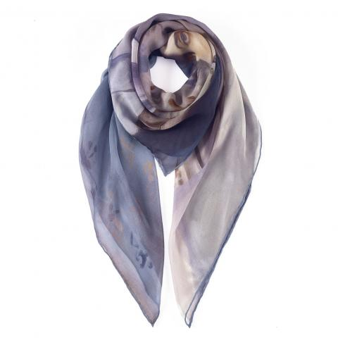 Lady Agnew of Lochnaw square silk scarf