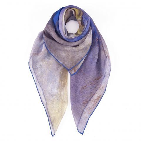 Sea View by Joseph Mallord William Turner silk scarf