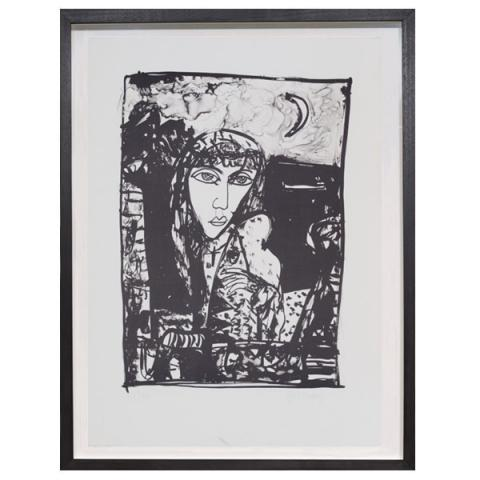 The Fish Have Gone Away John Bellany Limited Edition Print