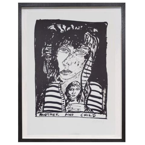 Celtic Mother and Child John Bellany  Limited Edition Print