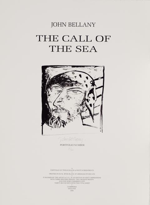 The Call of the Sea Suite John Bellany Limited Edition Portfolio Set