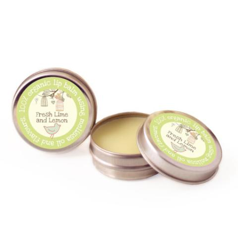 Organic Lime and Lemon Lip Balm