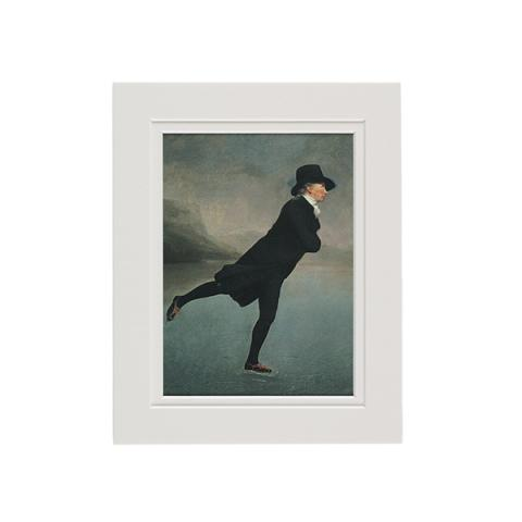 Reverend Walker by Sir Henry Raeburn mounted art print (37 x 29 cm)
