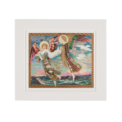 Saint Bride by John Duncan A5 mounted art print