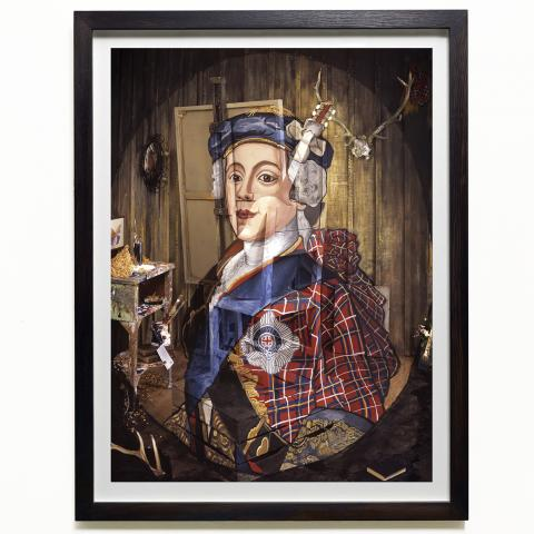 Portrait of Charles Edward Stuart by Calum Colvin limited edition print