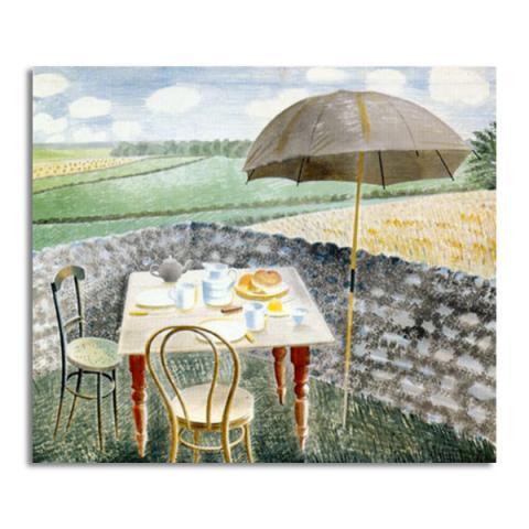Tea at Furlongs greeting card