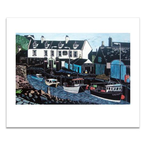 Port William greeting card