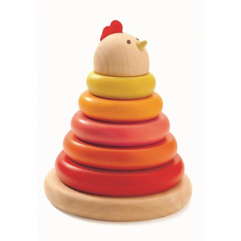 Cachempil mother hen ring stacker game