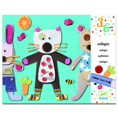 Djeco Collage Art Workshop for little ones