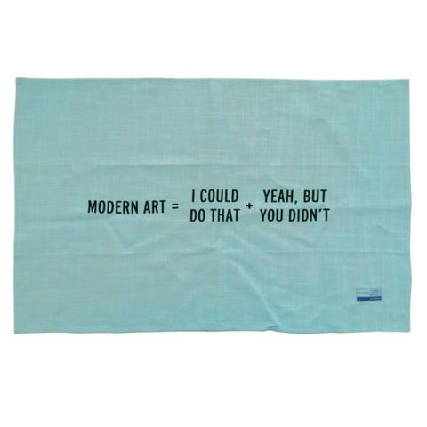 Modern Art Math Collection Craig Damrauer Tea Towel