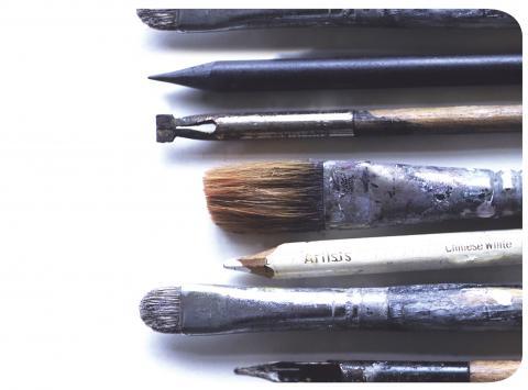Ella Doran Artist Tools Placemat Set