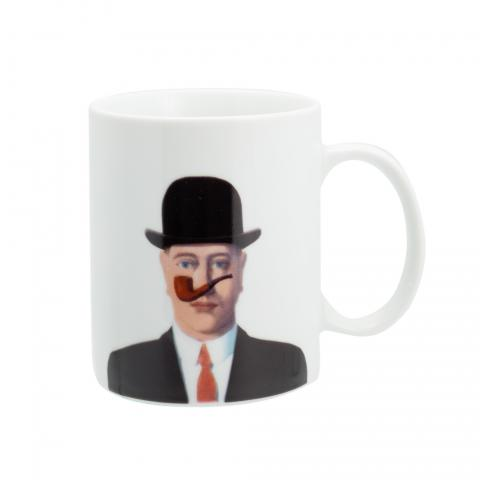 Man with Pipe Rene Magritte Mug
