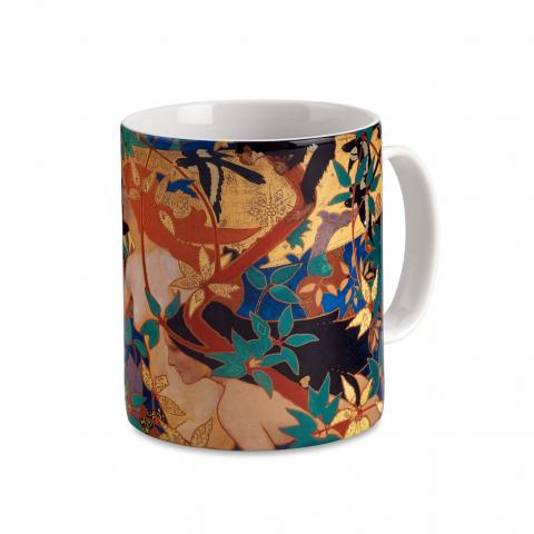 The Hunt by Robert Burns ceramic mug