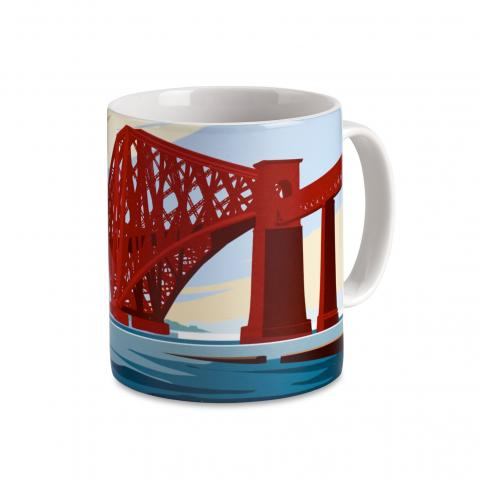Forth Rail Bridge Mug