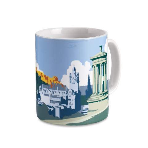 Edinburgh from Calton Hill Mug