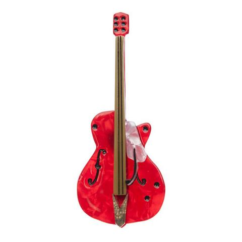 Erstwilder Guitar Hero Brooch