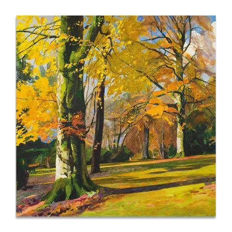 Knightshayes, Autumn greeting card