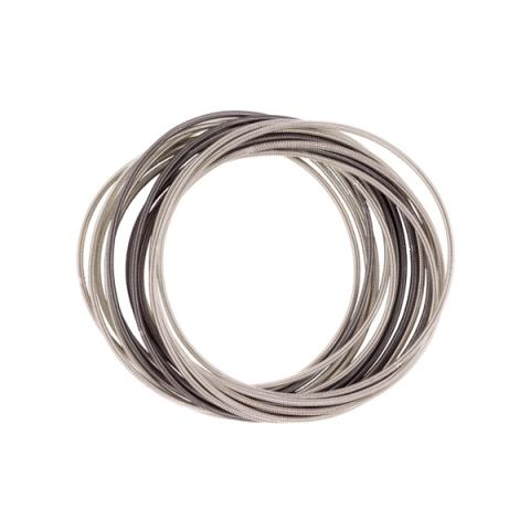 Etnika Slinky Silver Grey Bracelet