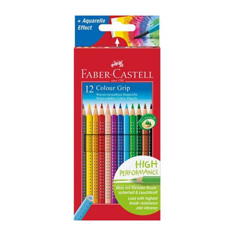 Grip colour pencils box of 12