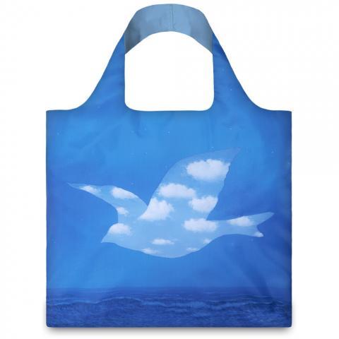 The Promise Rene Magritte LOQI Reusable Carrier Bag