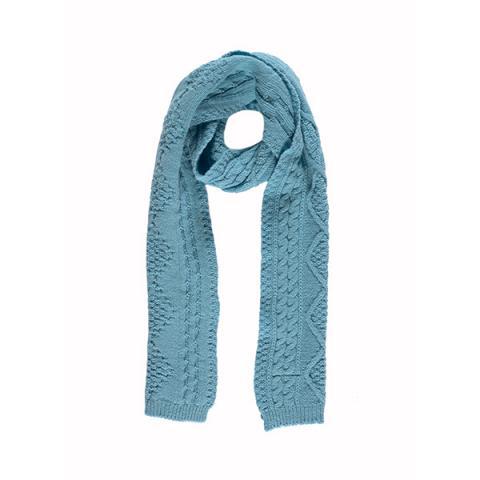 100% pure new wool Aran water scarf